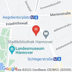 Mapa GARNI HOTEL REVEREY