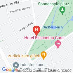 Mapa HOTEL FLORA
