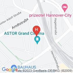 Mapa HOTEL MORENO