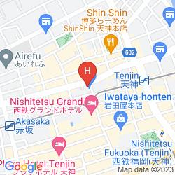Mapa MONTEREY LA SOEUR FUKUOKA