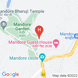 Mapa MANDORE GUEST HOUSE -(PURE VEGETARIAN HOTEL)