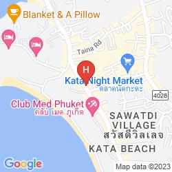 Mapa WHITE PEACH HOTEL