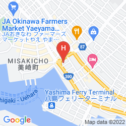 Mapa CHISUN RESORT ISHIGAKI