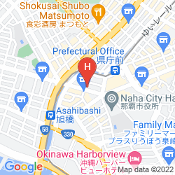 Mapa COMFORT HOTEL NAHA KENCHO-MAE