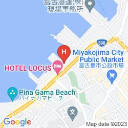 Mapa HOTEL ATOLL EMERALD MYAKOJIMA