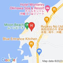 Mapa HOTEL MOON BEACH OKINAWA
