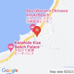 Mapa OKINAWA SUN-COAST HOTEL