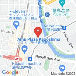 Mapa HOTEL TAISEI ANNEX