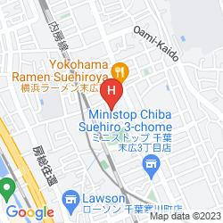 Mapa HOTEL MYSTAYS MAIHAMA