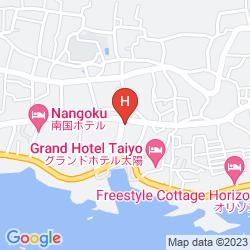 Mapa KISHU TETSUDO BOSO SHIRAHAMA