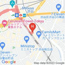 Mapa JR-EAST HOTEL METS SHIBUYA