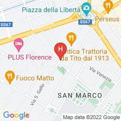 Mapa RESIDENZA JOHLEA
