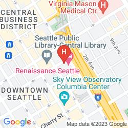 Mapa RENAISSANCE SEATTLE HOTEL
