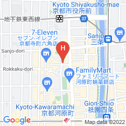 Mapa TOZANKAKU