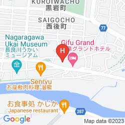 Mapa GIFU GRAND HOTEL