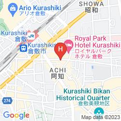 Mapa NIKKO KURASHIKI