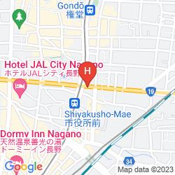Mapa KYU KARUIZAWA HOTEL SHINONOME SALON