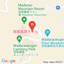Mapa MADARAO KOGEN HOTEL