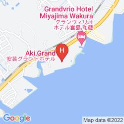 Mapa AKI GRAND HOTEL