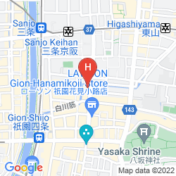 Mapa GION SHINMONSO