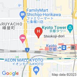 Mapa HATOYA ZUIHOUKAKU