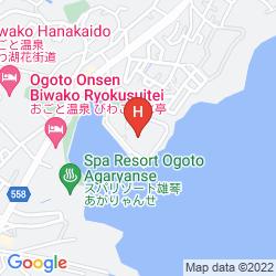 Mapa BIWAKO GRAND HOTEL