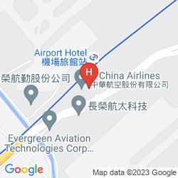 Mapa NOVOTEL TAIPEI TAOYUAN INTERNATIONAL AIRPORT