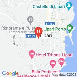 Mapa RESIDENCE MENDOLITA