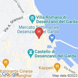 Mapa HOTEL MONIGA