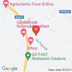 Mapa HOTEL FONTANELLA