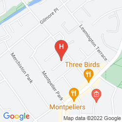 Mapa ALBYN TOWNHOUSE