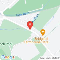 Mapa ALPHA GUEST HOUSE