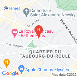 Mapa ETOILE SAINT HONORÉ