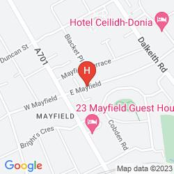 Mapa SONAS GUEST HOUSE