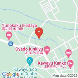 Mapa KAWAYU DAIICHI HOTEL SUKAZURA
