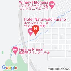 Mapa NEW FURANO HOTEL