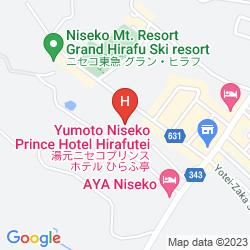 Mapa YUMATO NISEKO PRINCE HOTEL HIRAFUTEI