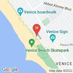 Mapa VENICE BEACH SUITES & HOTEL