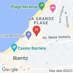 Mapa DU PALAIS