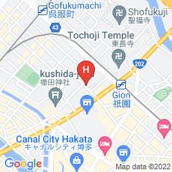 Mapa KASHIMA HONKAN