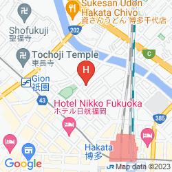 Mapa PRESIDENT HAKATA