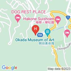 Mapa HAKONE KOWAKIEN