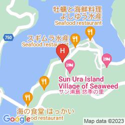 Mapa SUN-URASHIMA YUUKINOSATO