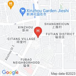 Mapa WYNDHAM HOTEL XIAN