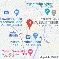 Mapa YUFUIN RYOAN WAZANHO