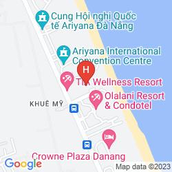 Mapa FUSION MAIA RESORT