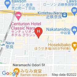 Mapa FUJITA NARA