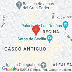 Mapa HOSTEL ONE SEVILLA CENTRO