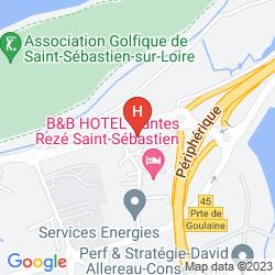 Mapa CAMPANILE NANTES SAINT-SEBASTIEN-SUR-LOIRE