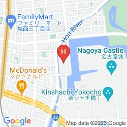 Mapa NAGOYA CASTLE